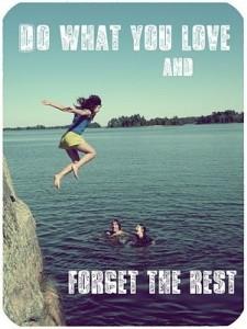 Doe wat je leuk vindt